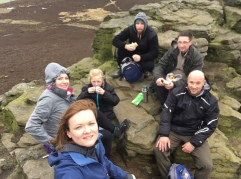 Kinder Scout Trip for OCP's users and volunteers