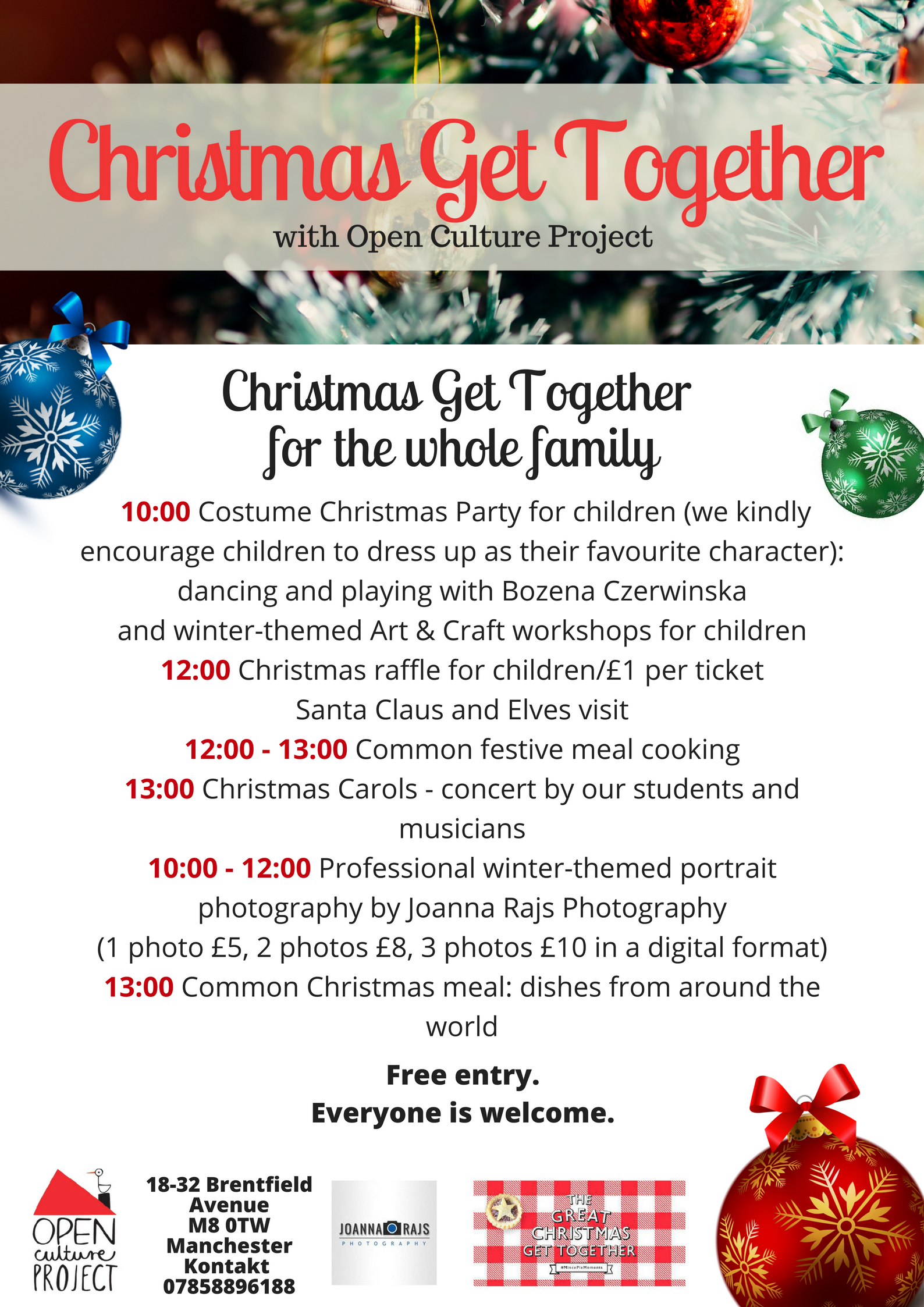 Christmas Get Together at Open Culture Project – Open Culture ...